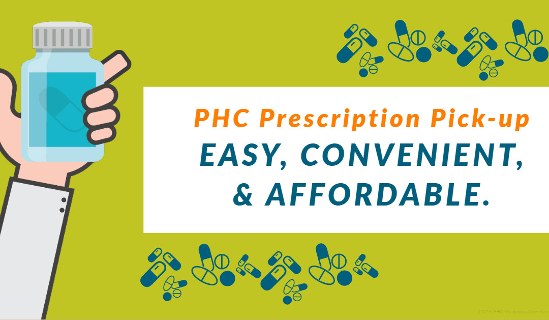 Prescription Pick-up Now Available at PHC Ames & Marshalltown